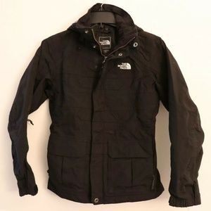 Women's X-Small The North Face 3 in 1 winter Black